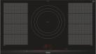 SIEMENS EX975LVV1E - 90 cm Induktions-Kochfeld - 11 100 W - Schwarz