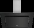 SIEMENS LC98KLV60 - Wandhaube - Wahlweise Abluft- oder Umluftbetrieb - Schwarz