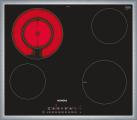 SIEMENS ET645FFP1C - 60 cm Kochstelle Glaskeramik - 6900 W - Schwarz