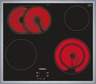 SIEMENS EF645HNA2C - 60 cm piano cottura in vetroceramica - 7500 W - Nero