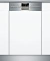 SIEMENS SR556S00PE - Lave-vaisselle intégrable - Capacité 9 couverts - Acier inoxydable