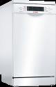 BOSCH SPS66PW00E - Geschirrspüler - Kapazität 9 Massgedecke - Weiss
