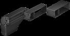 BOSCH HEZ381401 - Zubehör für Abluftbetrieb - Schwarz