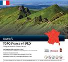 GARMIN TOPO France v4 PRO entiere - Mappa per navigation - Sulla scheda microSD/SD
