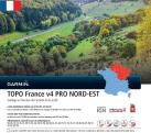 GARMIN TOPO France v4 PRO Nord Est - Mappa per navigation - Sulla scheda microSD/SD