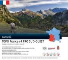 GARMIN TOPO France v4 PRO Sud Ouest (Sudovest) - Mappa per navigation - Sulla scheda microSD/SD