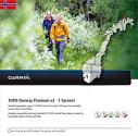 GARMIN TOPO Norvegia Premium 1 Sorvest - Mappa per navigation - In scheda microSD/SD