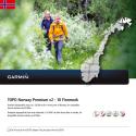 GARMIN TOPO Norvegia Premium 10 Finnmark - Mappa per navigation - In scheda microSD/SD