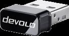 Devolo WiFi Stick ac - Adaptateur WiFi - Taux de transmission jusqu'à 433 Mbits/s max - Blanc