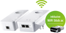 DEVOLO dLAN® 1200+ WiFi ac Starter Kit Powerline & WiFi Stick ac