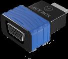 ICYBOX IB-AC516 - Nero/Blu