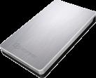 ICYBOX IB-234-U31a - Externes Gehäuse - Für 2.5 SATA SSD/HDD - Silber/Schwarz