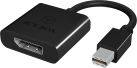 ICYBOX IB-AC540 - Adapter - Mini DisplayPort/DisplayPort - Schwarz