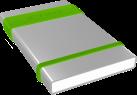 ICY BOX IB-252StU3 - Boîtier externe - Per disque dur SATA 2,5 - Argent/Vert/Noir