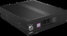ICYBOX IB-170SK-B - Rack sans tiroir - pour disque dur SATA 3.5 - Noir