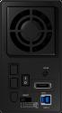 ICYBOX IB-RD3662U3S - Externes RAID-System - mit USB 3.0 und eSATA - Schwarz