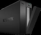 ICYBOX IB-3662U3 - Externe 2 fois boîtier JBOD - pour disque dur SATA 3.5 - Noir