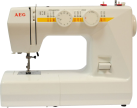 AEG NM1715 - Freiarmnähmaschine - 24 Programme - Weiss