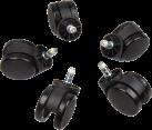 noblechairs NBL-AC-WHL-001 - Taille: 60 mm - Noir