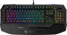 ROCCAT Ryos MK FX - Gaming-Tastatur - 2 x 32-Bit-ARM-Cortex-Prozessoren + 2 MB Flash-Speicher - Schwarz