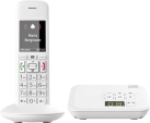 Gigaset E370A - Telefono fisso senza fili - con segreteria telefonica - Bianco