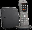 Gigaset CL660 - Telefono cordless - 2.4 Display TFT colori - Grigio