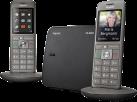 Gigaset CL660 DUO - Telefono cordless 2pcs - 2.4 Display TFT colori - Grigio