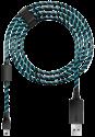 LIONCAST Ladekabel für PS4/Xbox One