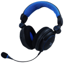 LIONCAST LX18 PRO - Gaming Headset - Kompatibel mit Xbox, PC, PlayStation, Mac - Schwarz/Blau