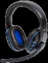 LIONCAST LX16 EVO - Gaming Headset - Compatible avec PC, PS4, PS3, Xbox One, Mac - noir/bleu