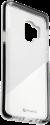 4smarts Soft Cover AIRY-SHIELD - Custodia - Per Samsung Galaxy S9 - Nero/Trasparente