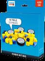 TINKERBOTS: Cubie Kit Big - Set di estensione - 72 pezzi