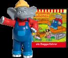 Boxine Tonie-Figure: Benjamin Blümchen als Baggerfahrer - Hörspiel [7 cm] [Versione tedesca]