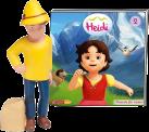 Boxine Tonie-Figure: Heidi - Hörspiel [Version allemande]
