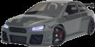 STURMKIND SILVER V8 - Modellauto - Appgesteuert - Silber