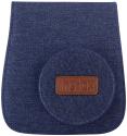 FUJIFILM Instax Mini 8 Jeans Soft Case, blu