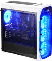 LC-Power LC-988W-ON - Boîtier PC - Avec Blue LED - Blanc