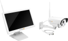 TECHNAXX TX-30 - Überwachungskamera-Set - 1280x720 - Weiss