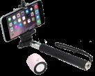 MusicMan Nano Selfie Bluetooth Soundstation BT-X12, rosa