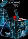 dreamGEAR My Arcade Retro Machine - Spielsystem mit 200 Spielen - Blau/Schwarz