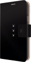 WHITE DIAMONDS Handy-Wallet Crystal für Galaxy S5, schwarz