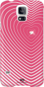 WHITE DIAMONDS Handy-Booklet Heartbeat für Samsung Galaxy S5, pink