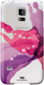 WHITE DIAMONDS Cover Liquids für Samsung Galaxy S5 mini, pink
