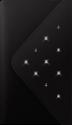 WHITE DIAMONDS - Purse Grand - iPhone 6 Plus/6s Plus - Schwarz