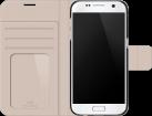 WHITE DIAMONDS Wallet Crystal, für Samsung Galaxy S7, schwarz