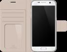WHITE DIAMONDS Wallet Crystal, für Samsung Galaxy S7, grau