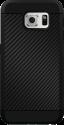 Black Rock Cover Material Case Real Carbon, für Samsung Galaxy S7