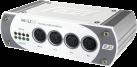 ESI M4U XT - USB 2.0 /MIDI Interface - Mit 4 Ausgängen und 4 Eingängen - Weiss/Grau