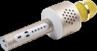 TECHNAXX PRO BT-X35 - Microfono karaoke - 4Ω - Oro/Argento