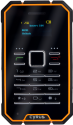 CYRUS CM1 2G SS - Outdoor Handy - 4GB - Noir/Orange